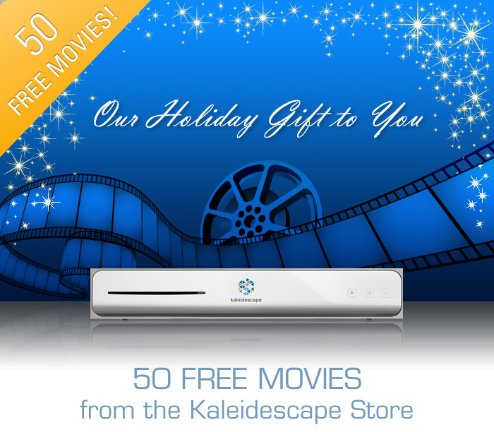 Fifty Free Movies Promotional Template
